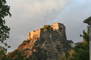 Isabella di Morra - Castle of Isabella di Morra in Favale (now Valsinni)