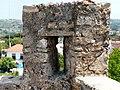 Castelo de Óbidos - Pormenor da muralha.JPG