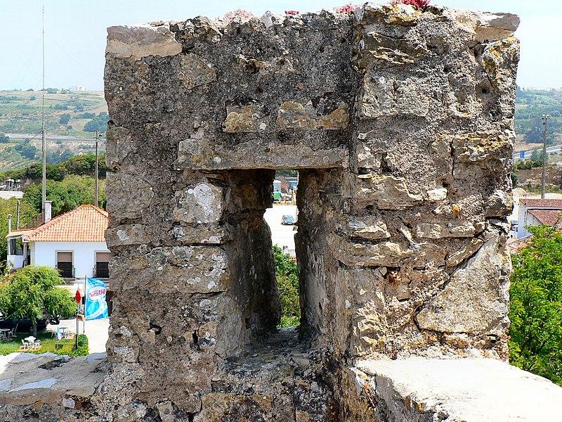 Image:Castelo de Óbidos - Pormenor da muralha.JPG