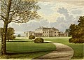 Castle Coole, from, A series of picturesque views of seats of the noblemen and gentlemen of Great Britain and Ireland (1840).jpg