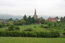 Castlemorton church and village.jpg