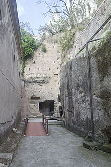 Entrance to Catacombs of San Gennaro