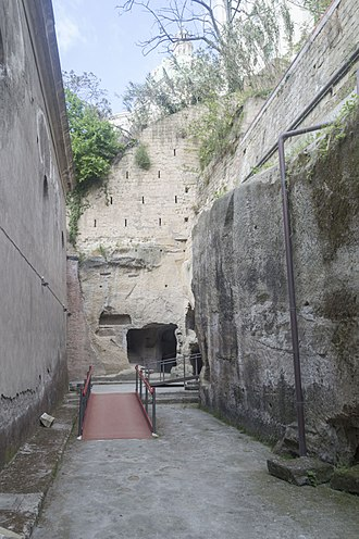 Catacombs of San Gennaro - Image: Catacombe di San Gennaro 059