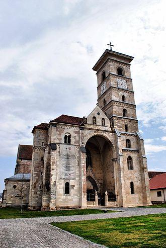 """St. Michael's Cathedral, Alba Iulia - Image: Catedrala romano catolica """"Sf. Mihail"""""""
