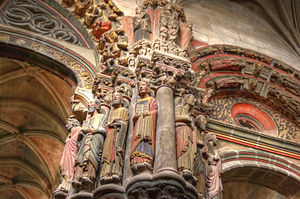 Ourense Cathedral - Portico of Paradise