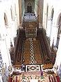 Cathedrale d'Amiens - Stalles vues du triforium.jpg