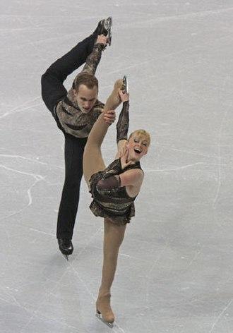 Jeremy Barrett (figure skater) - Denney and Barrett in 2009.