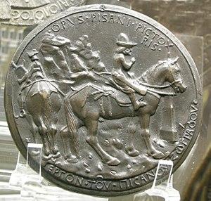 Medal of John VIII Palaeologus - Medal of John VIII Palaeologus (reverse)