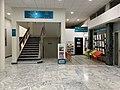 Centre culturel de la vie associative (CCVA) de Villeurbanne, hall.jpg