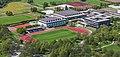 Centro deportivo universitario, Olympiapark, Múnich, Alemania 2012-04-28, DD 03.JPG