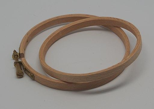Cercle de borderie bois