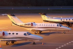 Cessna 525B Citation CJ3 Opera Jet OM-OPA, LUX Luxembourg (Findel), Luxembourg PP1350972612.jpg