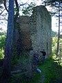 Cetatea Crizbav - turn intrare.JPG
