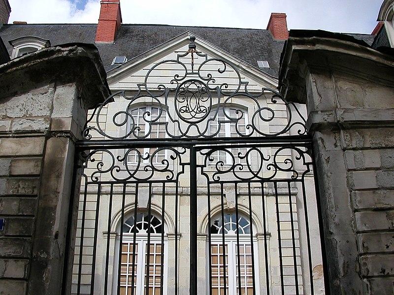 Hôtel du Tertre de Sancé in Château-Gontier, mansion of the XVIIIth century