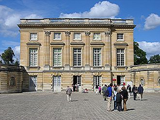 Ange-Jacques Gabriel - Château of the Petit Trianon in the park at Versailles