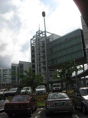 Universiti Malaysia Sarawak - Image: Chancellory 2 Universiti Malaysia Sarawak