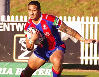 Chanel Matautia Samoan/Australian professional rugby league footballer