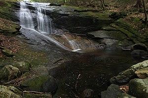 Chapel Brook - Image: Chapel Brook Falls Ashfield MA