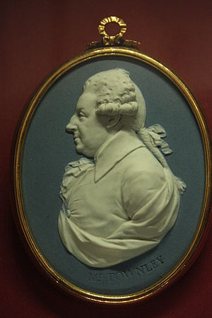 Charles Townley - Charles Townley, miniature by Josiah Wedgewood