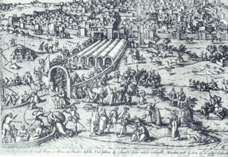 Entry of Charles V into Tunis in 1535 Charles quint a tunis.png