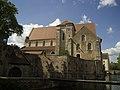 Chartres, Collégiale Saint-André, Exterior, South Façade.jpg