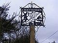 Chattisham Village Sign - geograph.org.uk - 1175477.jpg