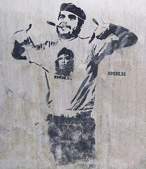 Che and Fidel Graffiti Bergen Norway