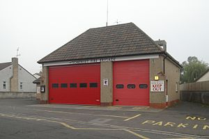Cheddar, Somerset - Cheddar Fire Station has a crew of retained firefighters