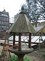 Chelsea Physic Garden, a bird table - geograph.org.uk - 1808612.jpg
