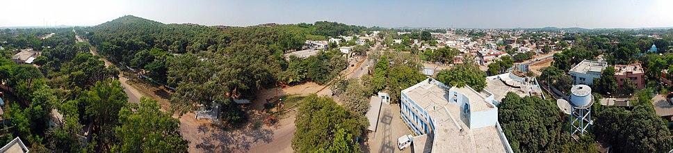 Panoramic view of Chhatarpur