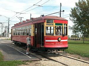 Chicago Surface Lines - Chicago Surface Lines car 3142 at Illinois Railway Museum