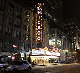 Chicago Theatre United States historic place