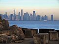 Chicago skyline from Promontory Point.jpg