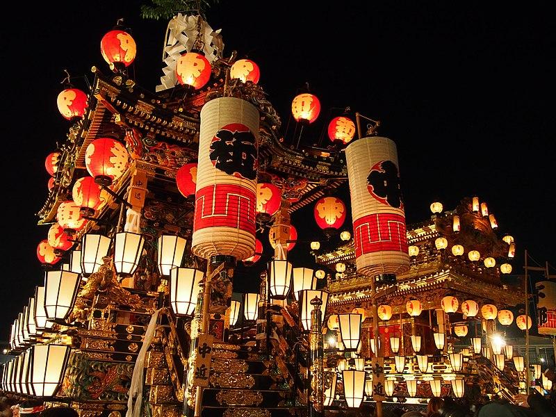 秩父夜祭の山車 Wikipedia
