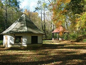 Chick Springs - Chick Springs spring house and gazebo, 2010.