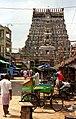 Chidambaram Temple from the street (4772908892).jpg