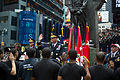 Chief of Staff of the Army Gen. Raymond T. Odierno, center, administers the oath of enlistment to incoming U.S. Soldiers during a ceremony in Times Square in celebration of the Army's 237th birthday 120614-A-AO884-209.jpg