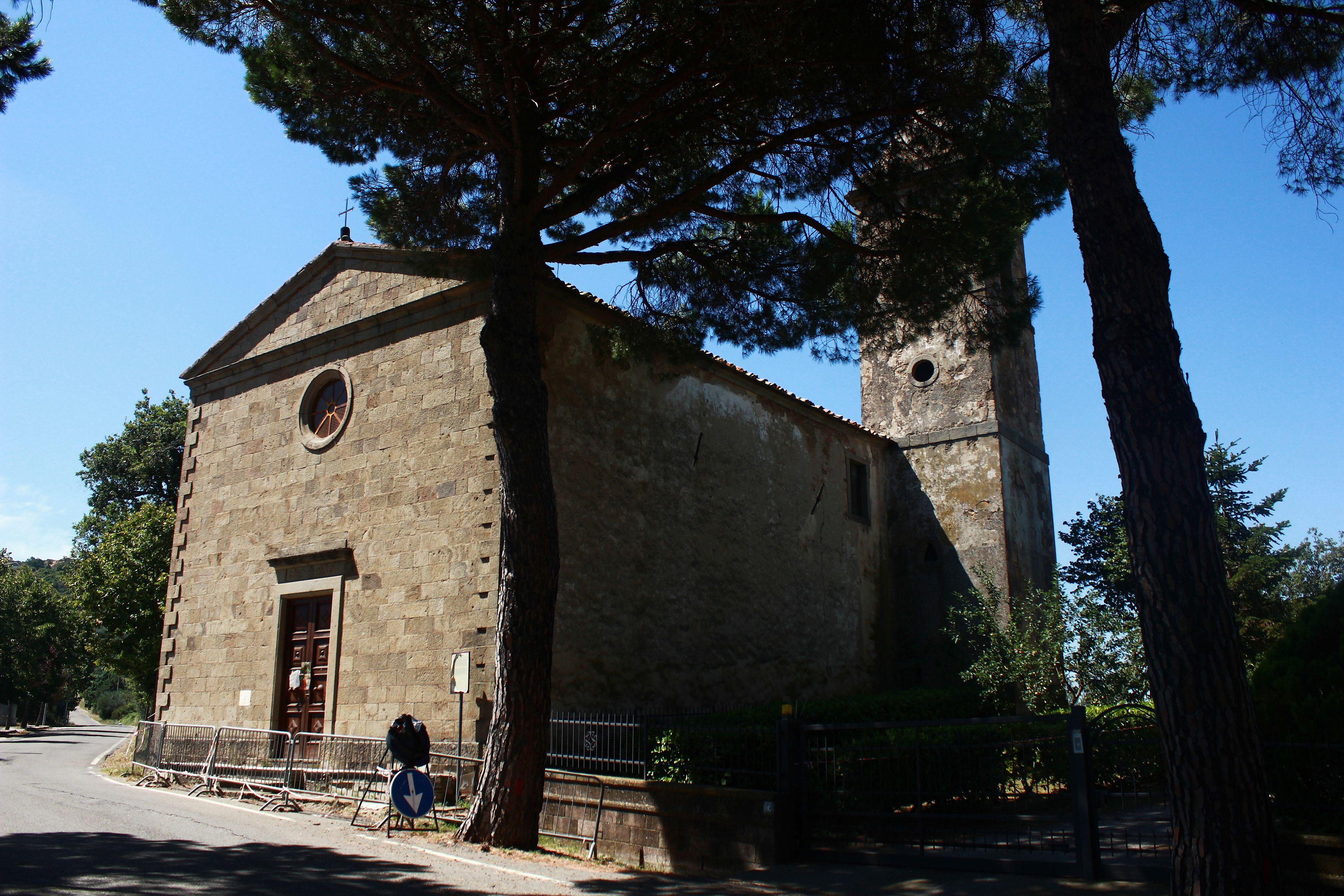 Chiesa della Madonna degli Schiavi a Montegiovi, Castel del Piano