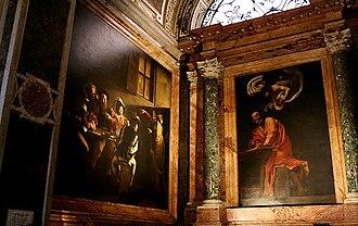 Contarelli Chapel - Paintings in situ