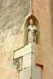 Chiesa di San Marcuola statua di vescovo Venezia.jpg