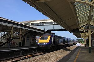 Chippenham railway station - A First Great Western service from London