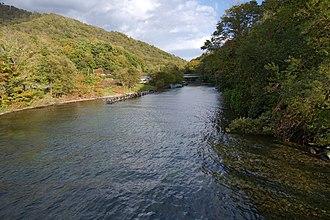 Chitose River - Chitose river lake Shikotsu