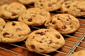 Chocolate chip cookie - Image: Chocolate Chip Cookies kimberlykv