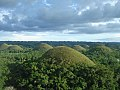 Chocolate Hills in Bohol from Observation Deck.jpg