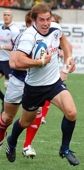 Chris Wyles - Chris Wyles with the USA Eagles during the 2010 Churchill Cup vs Russia