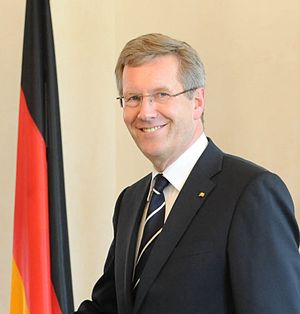 English: President of Germany Christian Wulff ...