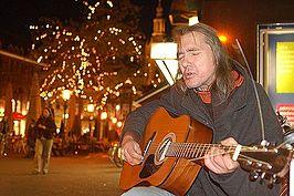 Chuck Deely in Den Haag