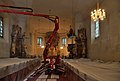 Church Maria Heilbrunn - interior during restoration.jpg