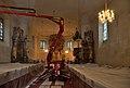 Church Maria Heilbrunn - interior during restoration.jpg