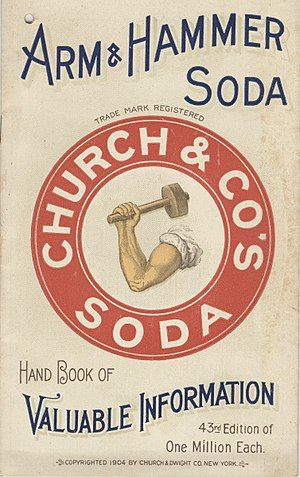 Arm & Hammer - Image: Church and Co. (3092859815)